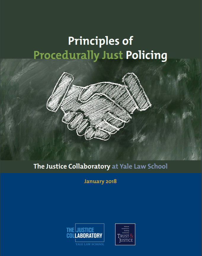 principles of procedurally just policing report cover